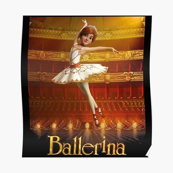 ballerina leap Poster