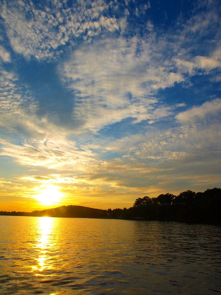 Lake Ozark Sunset by JThill