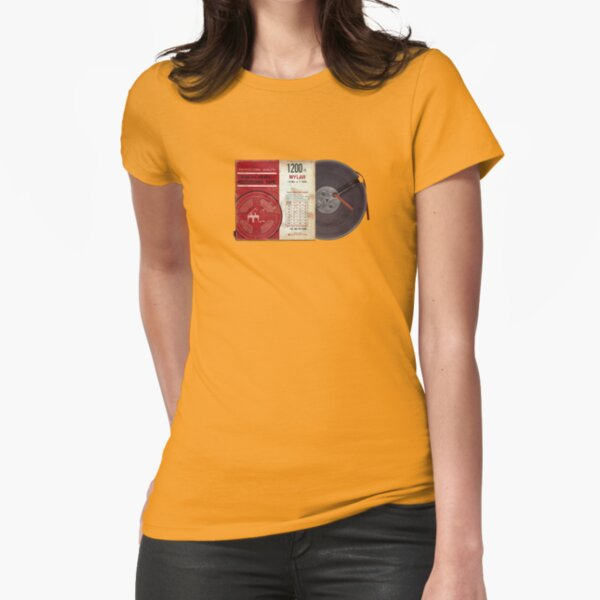 Audio Heritage Fitted T-Shirt