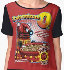 Exterminate O's Women's Chiffon Top