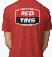 Red Tins West End Beer Tri-blend T-Shirt