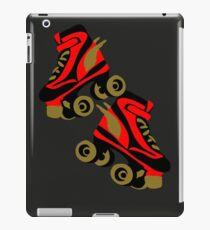 Cool golden roller skates Roller Derby iPad Case/Skin