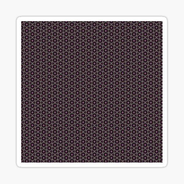 Geometric Abstract Pattern 3 Sticker