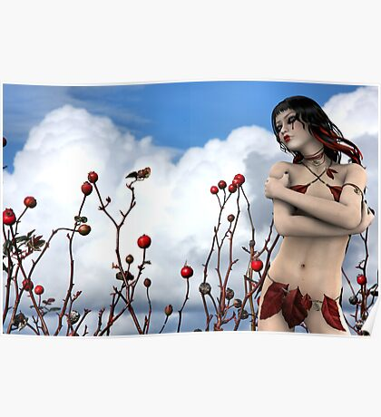 Tears of a Wild Rose with Rose Moxon Poster