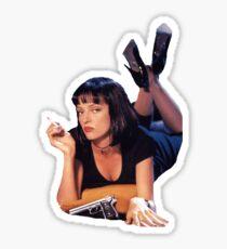 Pulp Fiction Merchandise Sticker