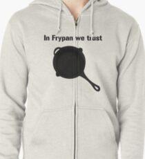 PUBG - In Frypan we trust Zipped Hoodie
