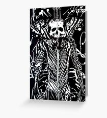 The taker of life(cartridge paper) Greeting Card