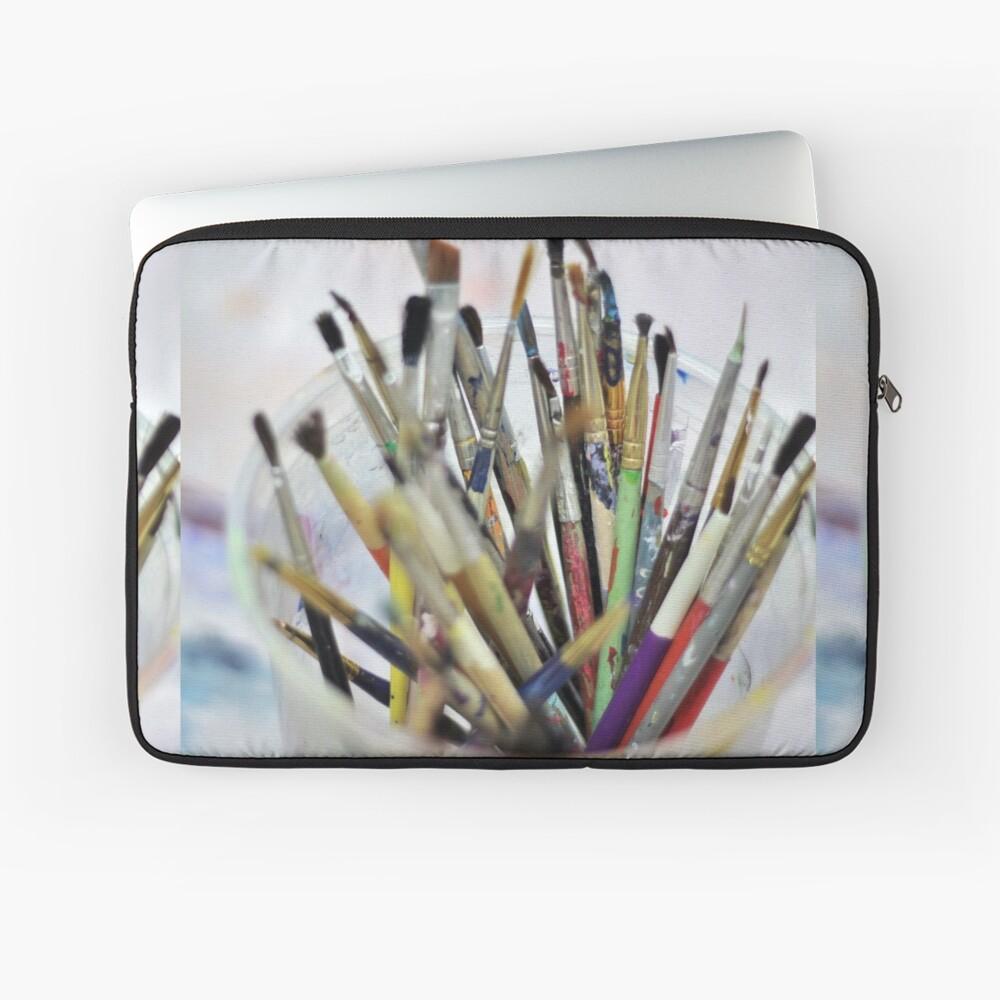 Art Room Brushes Laptop Sleeve