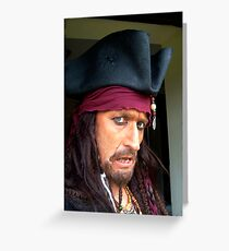 Captain Blackheart Greeting Card