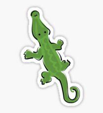 Adorable Alligator Sticker