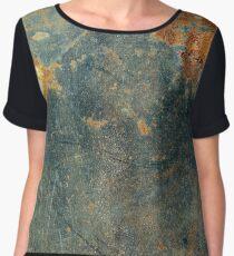 Rusty texture Women's Chiffon Top