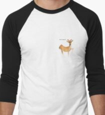 Eastern Swamp Deer Men's Baseball ¾ T-Shirt