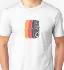 Retro Rolleicord Pop Art T-Shirt
