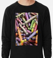 Crayons and Depth of Field Yum Lightweight Sweatshirt