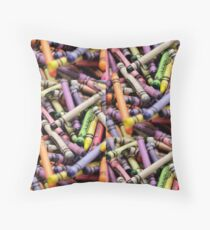 Crayons and Depth of Field Yum Floor Pillow