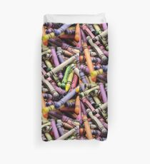Crayons and Depth of Field Yum Duvet Cover