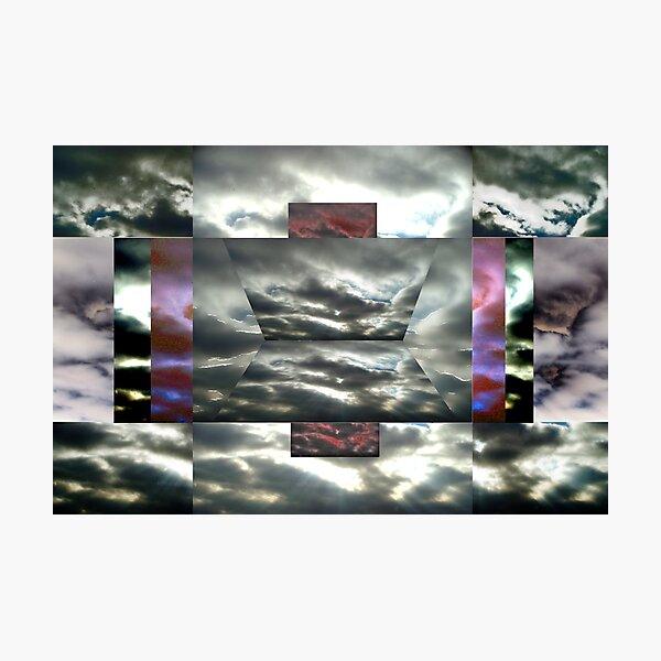 Cloud Tricks Photographic Print