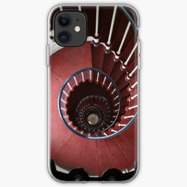 Staircase, Point Hicks Lighthouse iPhone Soft Case