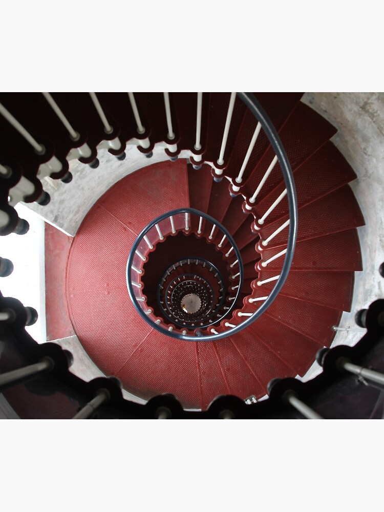 Staircase, Point Hicks Lighthouse by LeighBlake