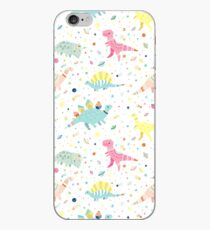 Dinosaur Pattern iPhone Case