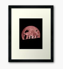 Fellowship of the Berserk (moon version) Framed Print