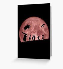 Fellowship of the Berserk (moon version) Greeting Card