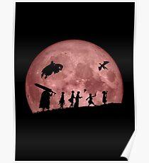 Fellowship of the Berserk (moon version) Poster