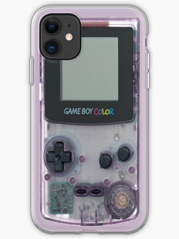 Game Boy Color   Classic Gamestuff I Phone Case & Cover by Highxman