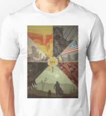Fallout 4 Graphic Poster  Unisex T-Shirt