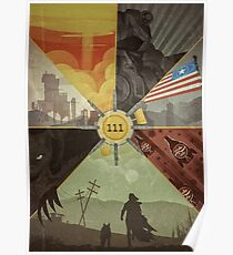 Fallout 4 Graphic Poster  Poster