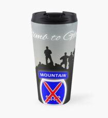 10th Mountain Division Travel Mug