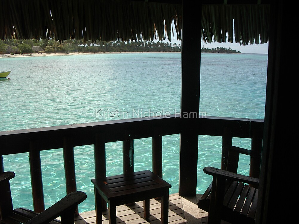 Tahiti Scenery #11 by Kristin Hamm