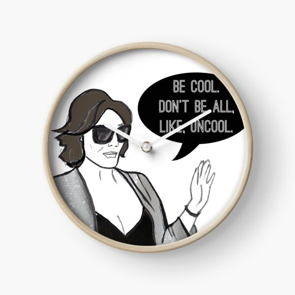 Be Cool Clock