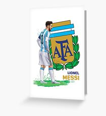 LM - Argentina - World Cup Greeting Card
