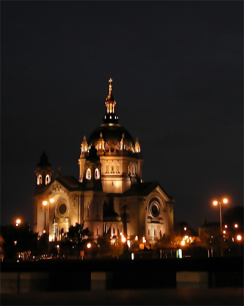 St Paul Cathedral Illuminated by Tom  Reynen