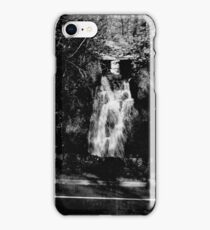 Waterfall at Betws Y Coed iPhone Case/Skin