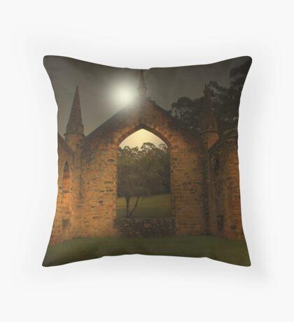 Port Arthur Church - Tasmania Throw Pillow