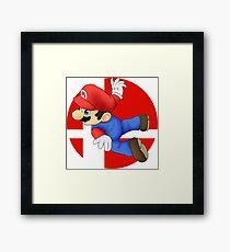 Super Smash Bros. - Mario Framed Print