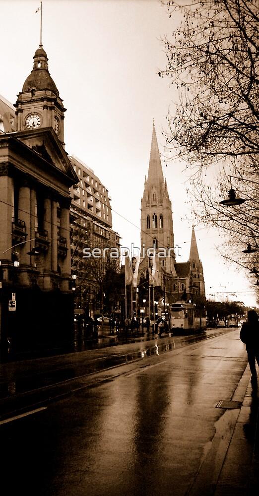 Melbourne by seraphidart
