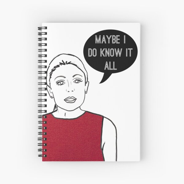 Know it all Spiral Notebook