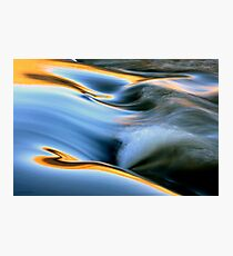 Waves of Light Photographic Print