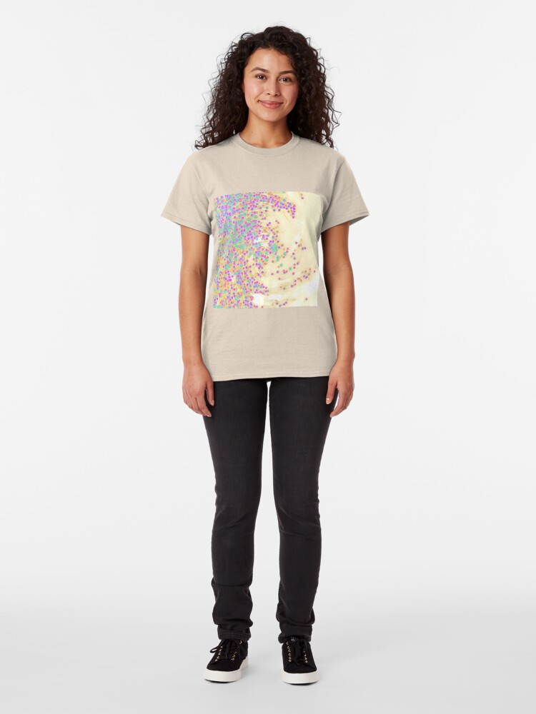 Alternate view of Color Wave Classic T-Shirt