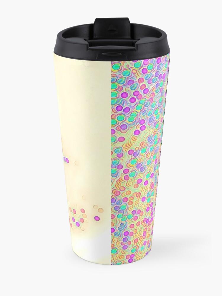 Alternate view of Color Wave Travel Mug