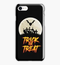 Halloween - Trick Or Treat iPhone Case/Skin