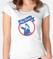 Ahoj shower Women's Fitted Scoop T-Shirt