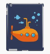 Orange submarine submarine iPad Case/Skin