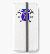 10th Mountain Division - EST 1943 iPhone Wallet/Case/Skin