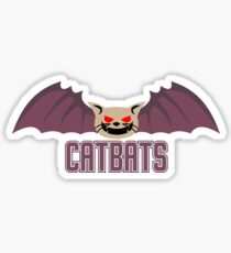 catbats tshirt Sticker