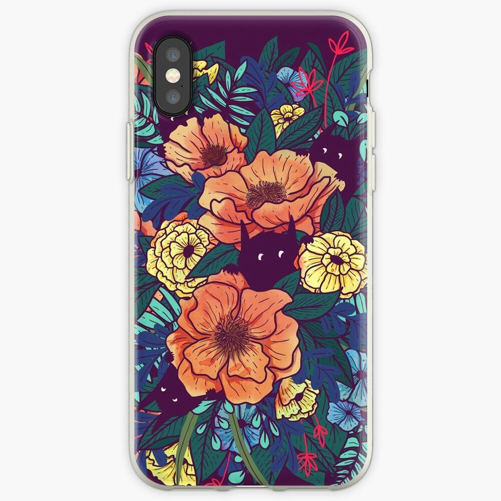 Wilde Blumen iPhone-Hüllen & Cover
