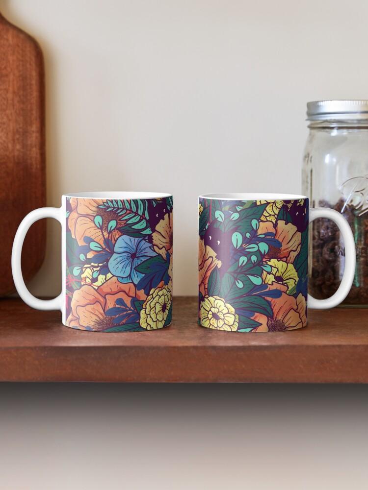 Alternate view of Wild Flowers Mug